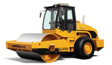 龙工LG522A单钢轮压路机