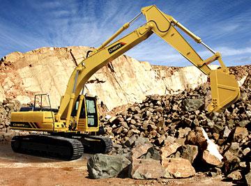 奇瑞迪凯重科CR923挖掘机图片
