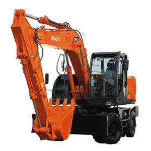 日立ZX190W-3轮式挖掘机