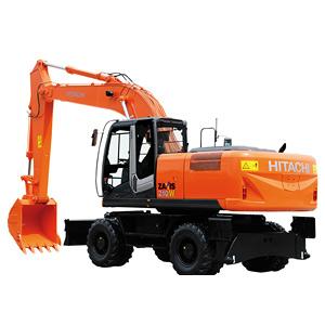 日立ZX210W轮式挖掘机