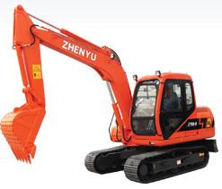 熔盛机械ZY80挖掘机图片