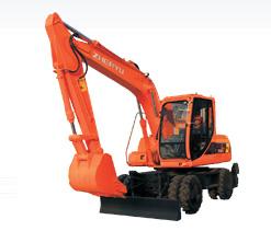 熔盛机械ZYL160轮式挖掘机