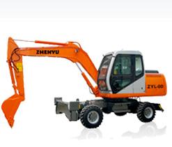 熔盛机械ZYL80轮式挖掘机图片