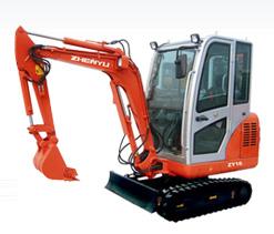 熔盛机械ZY16挖掘机