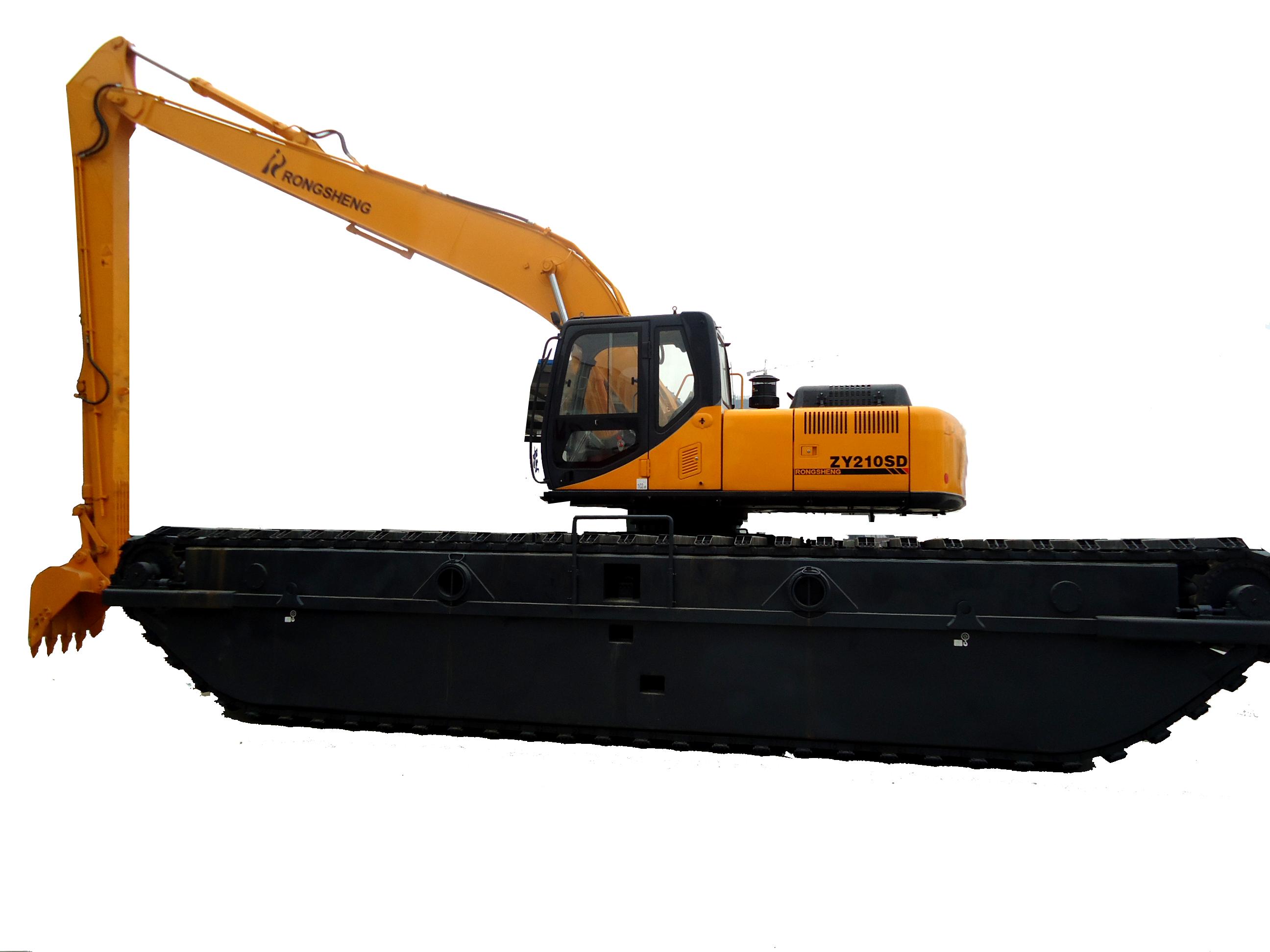 熔盛机械ZY210SDA2湿地挖掘机