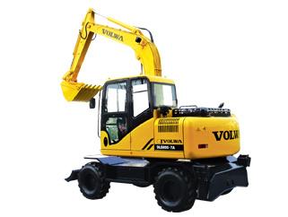 沃尔华DLS100-9A轮式挖掘机