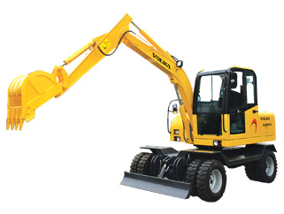 沃尔华DLS865-9A轮式挖掘机