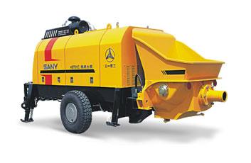 三一HBT60C-1413DⅢ拖泵