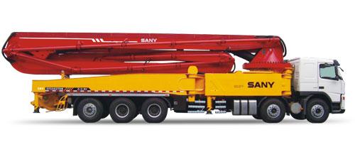 三一SY5502THB 58V泵车