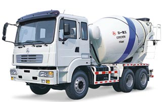 三一SY5253GJB 9方/欧Ⅲ(日野底盘FS1ELV)搅拌车混凝土