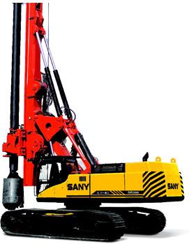 三一SR420旋挖钻机