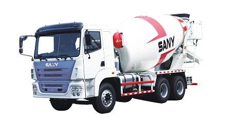 三一SY5250GJB4 9方/欧Ⅲ(日野发动机)GCC认证混凝土搅
