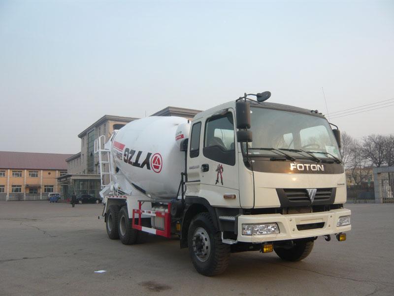 亚特欧曼6*4型14方混凝土搅拌运输车