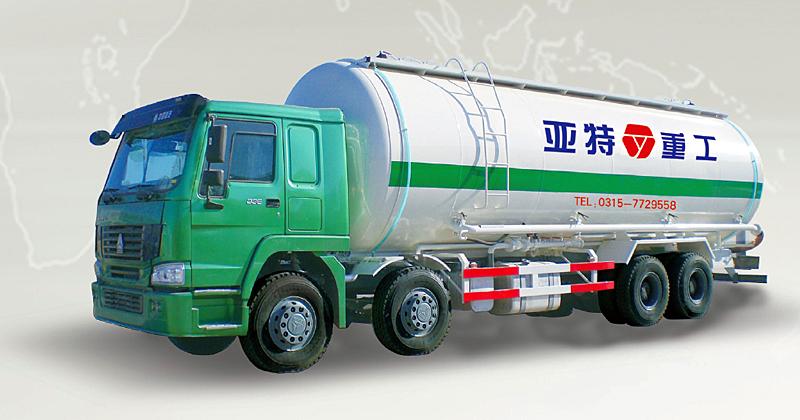 亚特豪泺38立方粉粒物料运输车