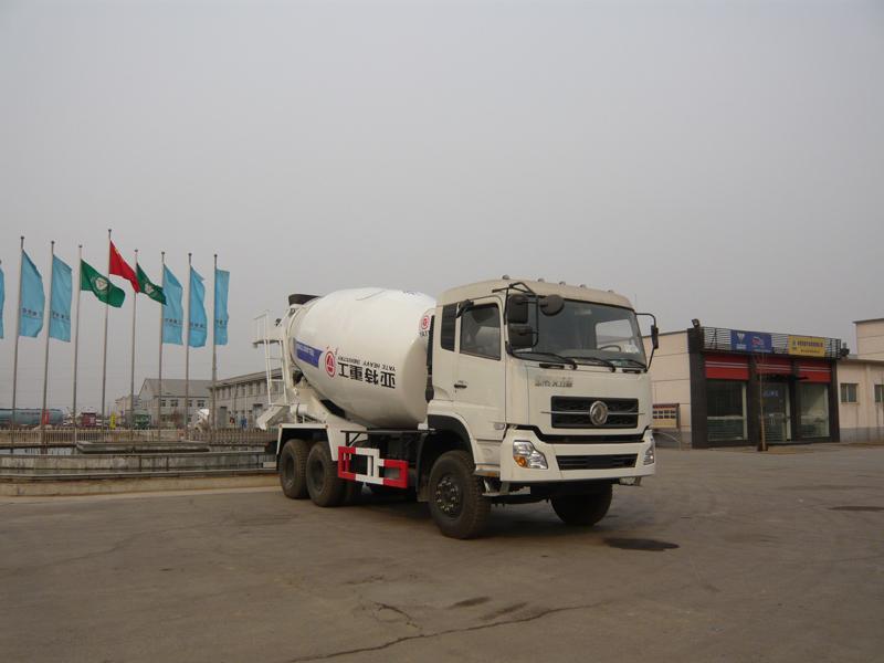 亚特东风10方混凝土搅拌运输车