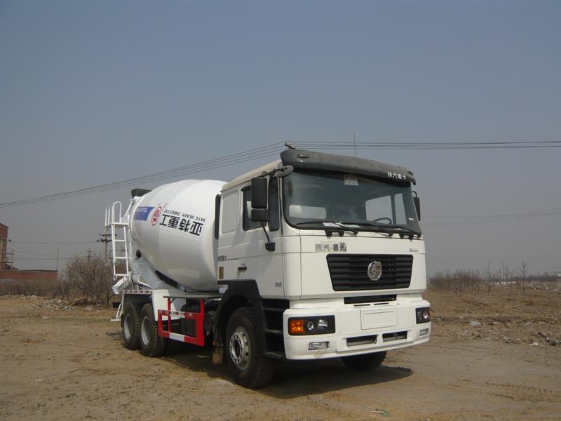 亚特德龙6*4型14方混凝土搅拌运输车