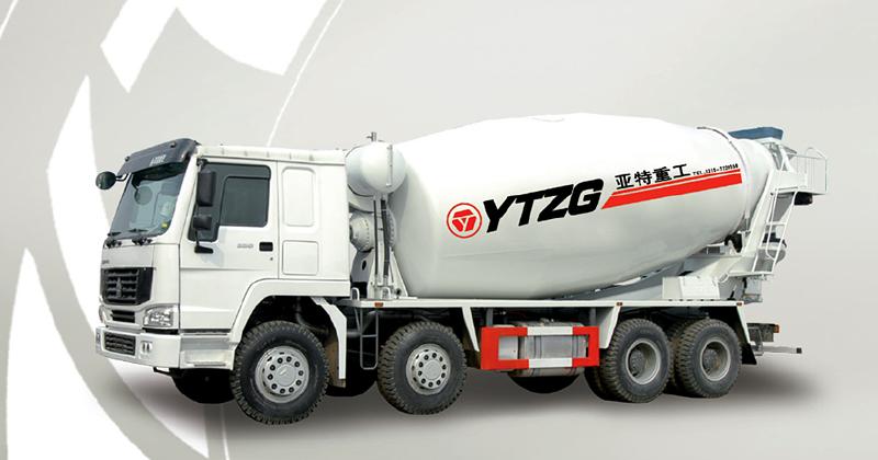 亚特豪泺16立方混凝土搅拌运输车