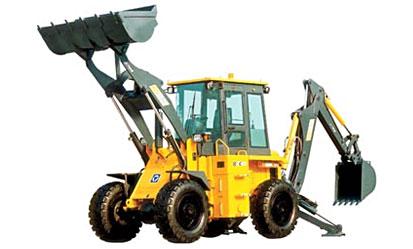 徐工XT860挖掘装载机