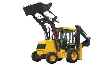 徐工XT876挖掘装载机