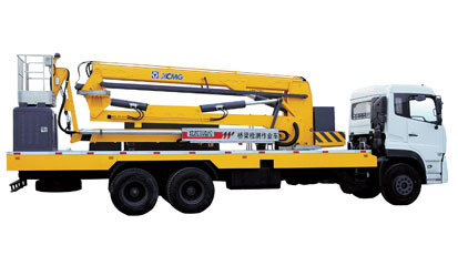 徐工12米臂架式桥梁检测车