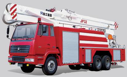 徐工JP32举高喷射消防车