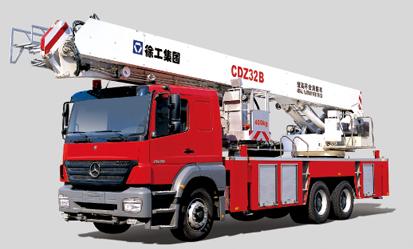 徐工CDZ32B登高平台消防车
