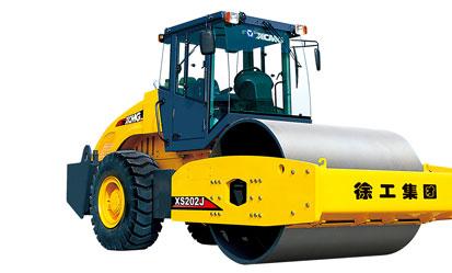 徐工XS202J机械驱动单钢轮振动压路机
