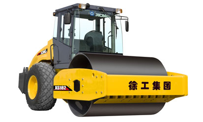 徐工XS182液压驱动单钢轮振动压路机