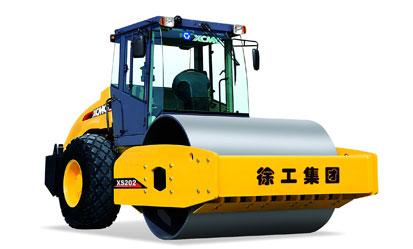 徐工XS202液压驱动单钢轮振动压路机