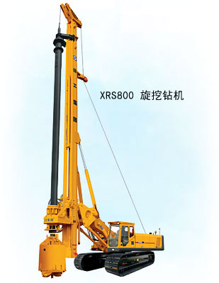 徐工XRS800旋挖钻机