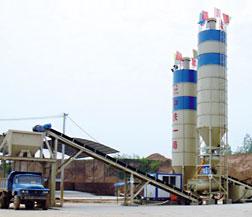 新筑股份WCB300稳定土厂拌设备