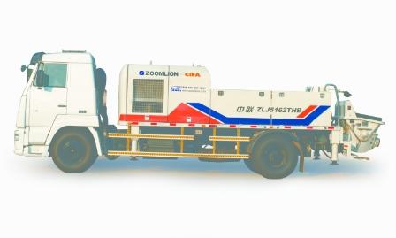 中联重科ZLJ5162THB车载泵