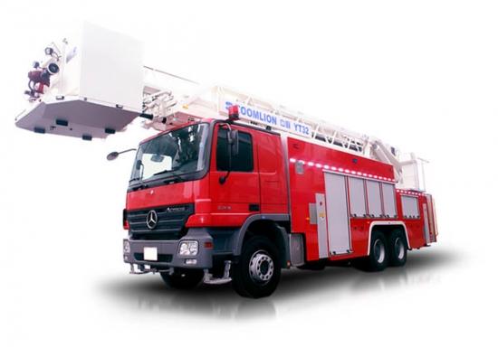 中联重科ZLJ5320JXFYT32多功能云梯消防车