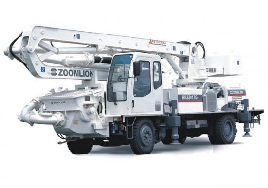 中联重科HBZ8017G轮轨切换自行式布料泵
