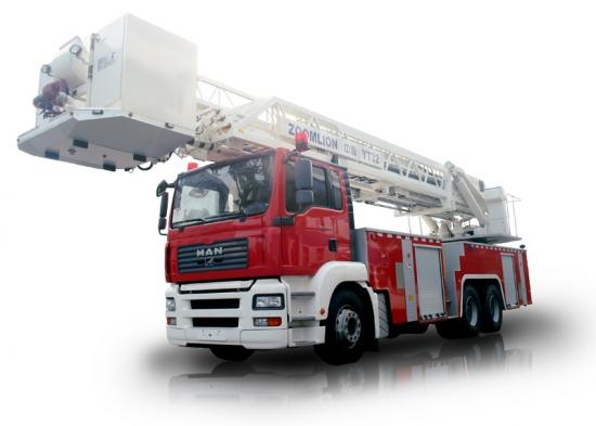 中联重科ZLJ5300JXFYT32多功能云梯消防车