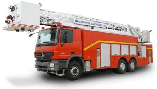 中联重科ZLJ5330JXFYT30多功能云梯消防车