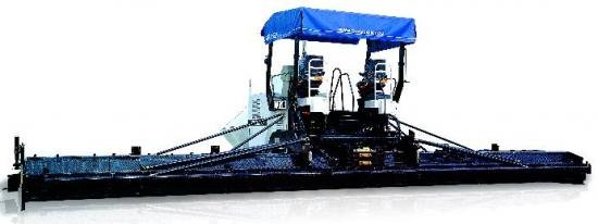 中联重科LTU120D履带式摊铺机