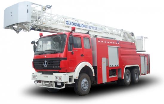 中联重科ZLJ5290JXFYT25多功能云梯消防车