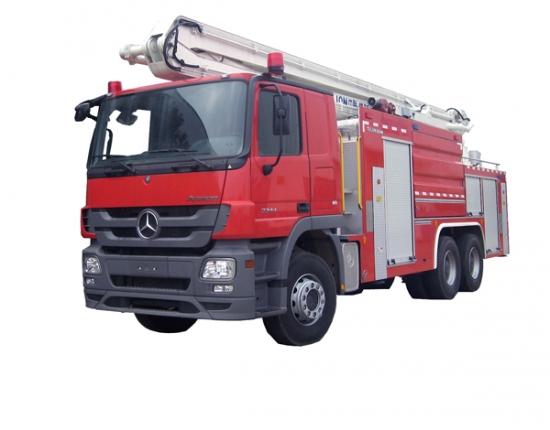 中联重科ZLJ5251JXFJP25举高喷射消防车