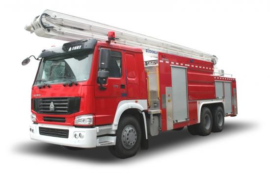 中联重科ZLJ5300JXFJP25消防车