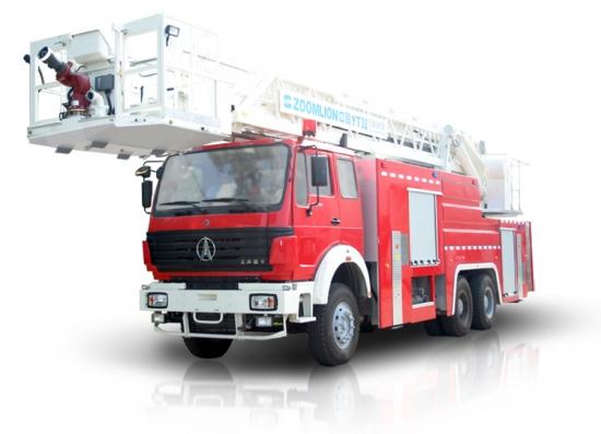 中联重科ZLJ5321JXFYT32多功能云梯消防车