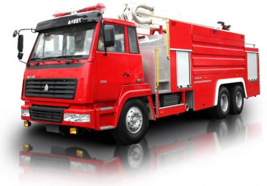 中联重科ZLJ5290JXFJP16消防车