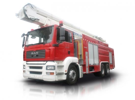 中联重科ZLJ5300JXFJP32举高喷射消防车