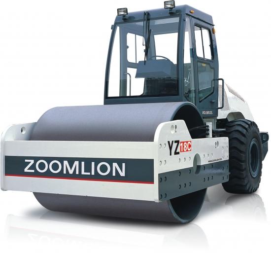 中联重科YZ18C单钢轮压路机