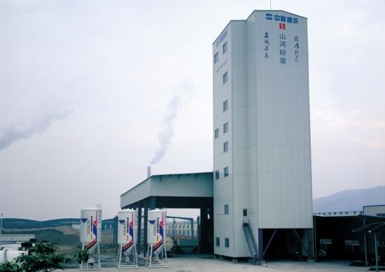 中联重科FLL40/40B/60B干混砂浆生产线
