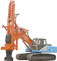 郑州富岛(川岛)HS567旋挖钻机