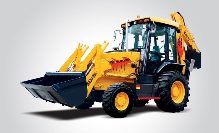 宇通重工WZ30-25挖掘装载机
