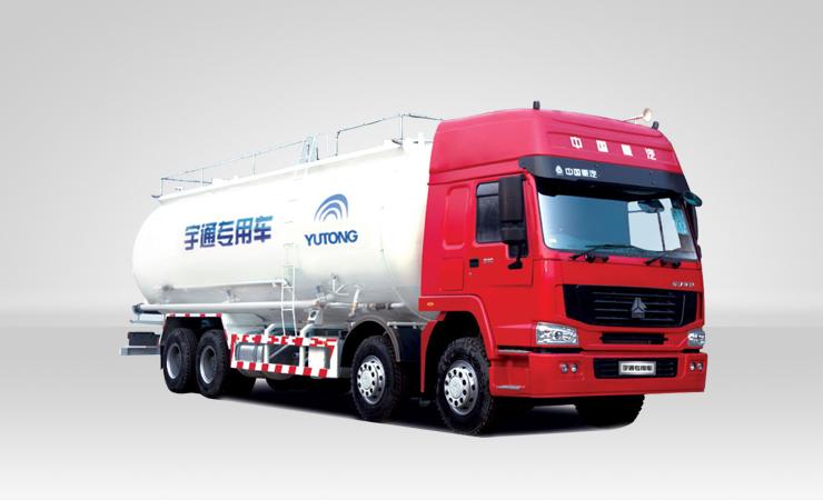 宇通重工YTZ5317GSL42E粉粒物料运输车